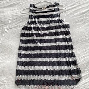 Silence and Noise sequin tank top